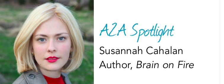 Spotlight: Susannah Cahalan