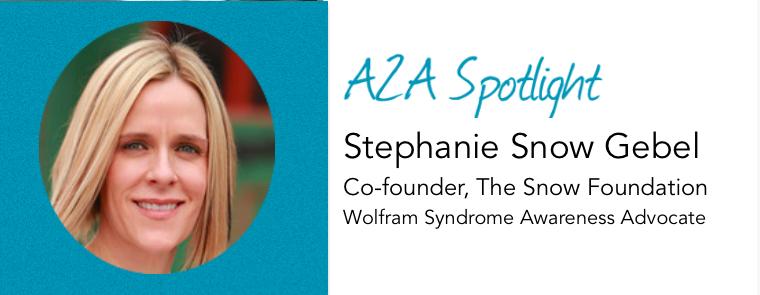 A2A Spotlight – Stephanie Snow Gebel