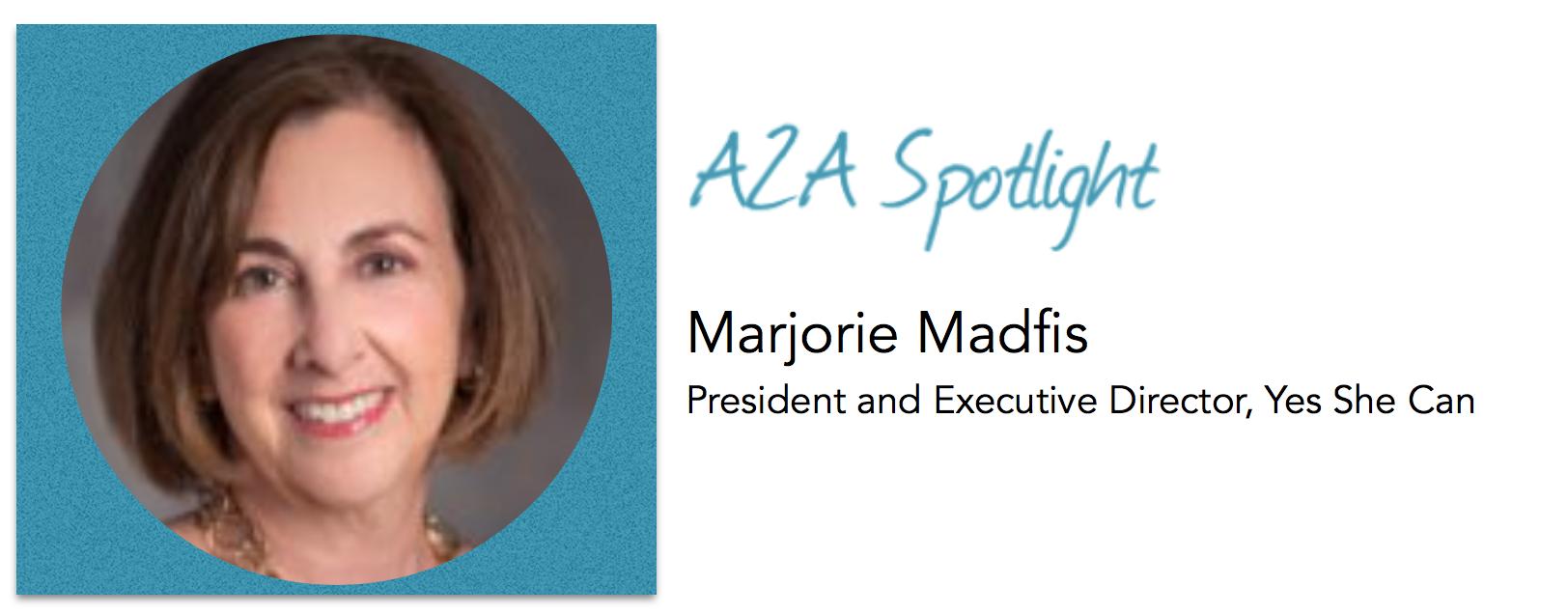 Spotlight – Marjorie Madfis