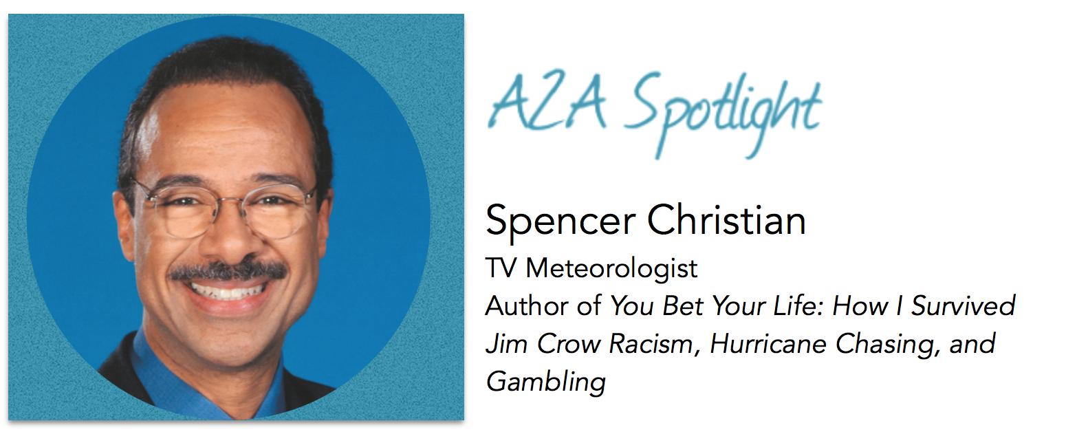 Spotlight – TV Meteorologist Spencer Christian Weathers His Own Storm