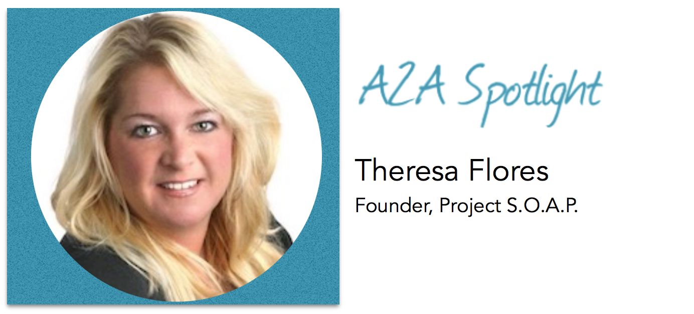 Spotlight- Theresa Flores Helps Fight Human Trafficking with S.O.A.P.