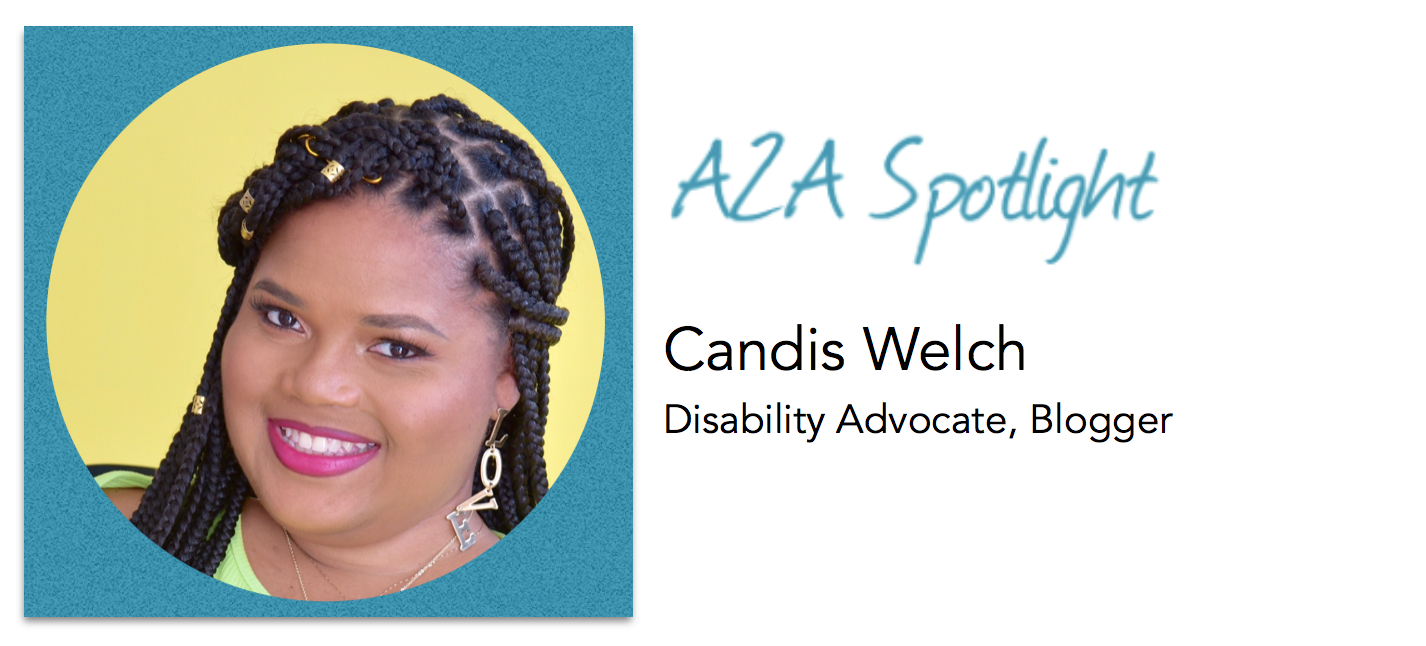 Spotlight – Disability Advocate Candis Welch Doesn't Let Her Wheelchair Slow Her Down