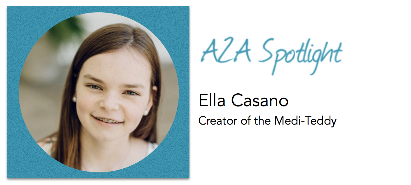 Spotlight – 13-Year-Old Ella Casano Makes IV Infusions A Little Easier For Young Patients