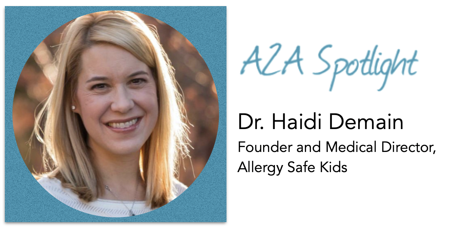 Spotlight – Dr. Haidi Demain Helps Keep Kids With Severe Food Allergies Safe At School