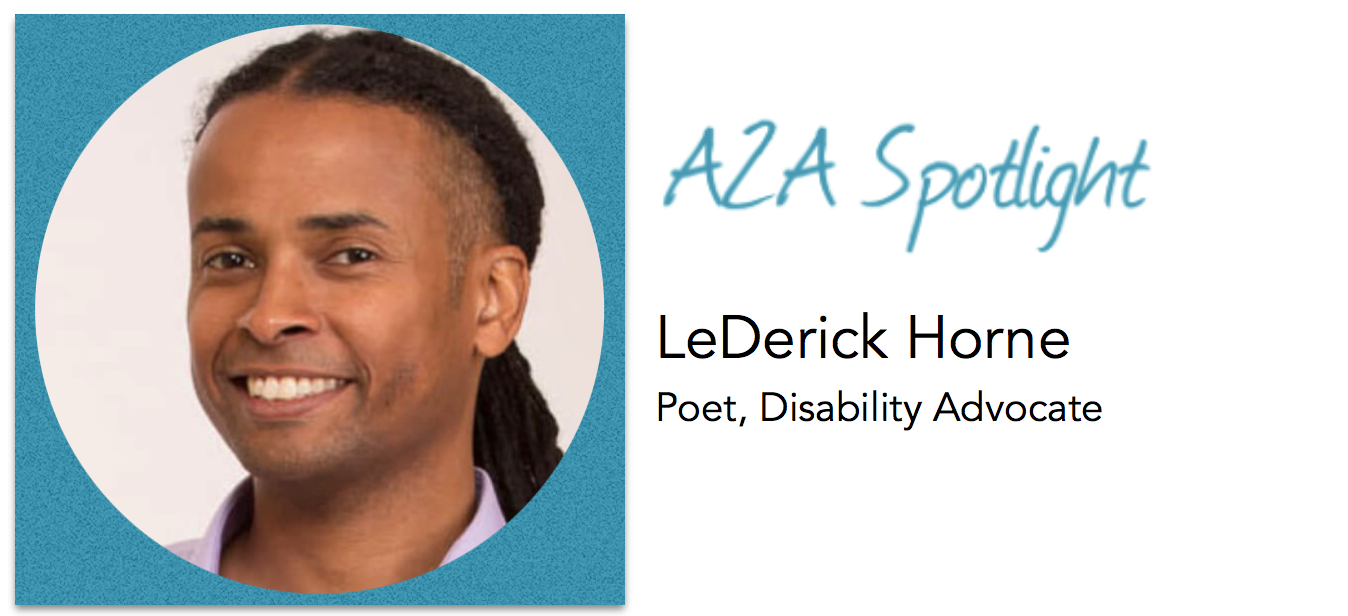 Spotlight – Spoken Word Poet LeDerick Horne Empowers People With Disabilities