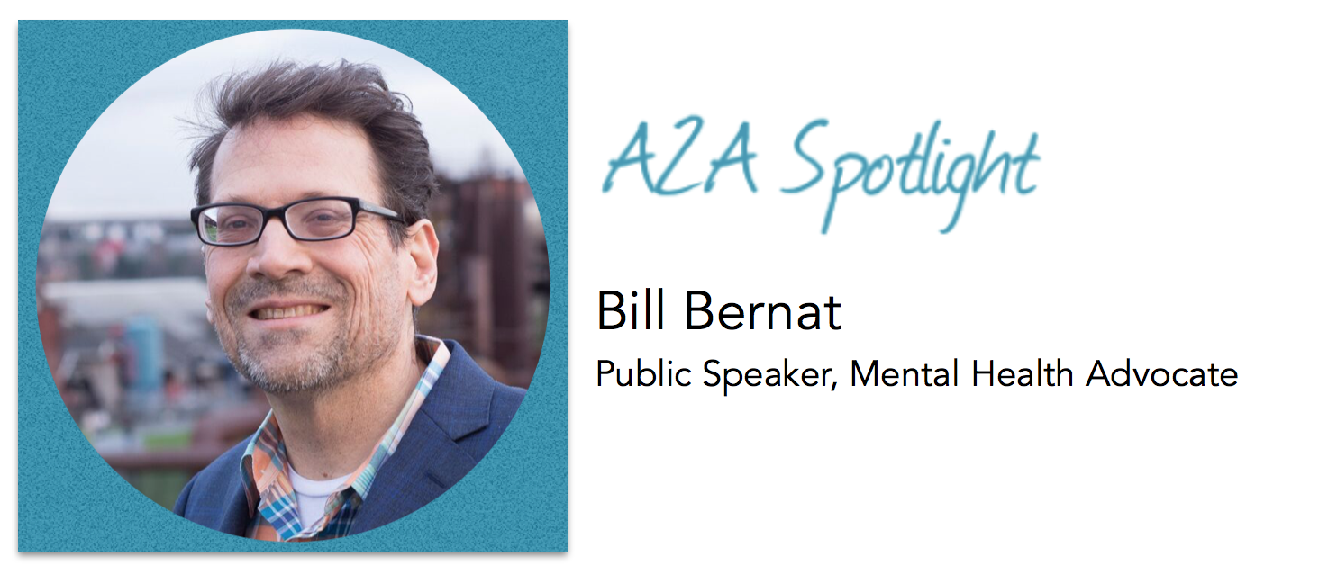 Spotlight – Bill Bernat Uses Humor To Normalize Mental Illness